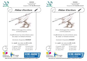 Atelier d'écriture @ ARCATURE | Vaux-le-Pénil | Île-de-France | France