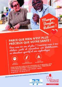 ATELIER SANTE @ Centre Social de Montaigu | Melun | Île-de-France | France