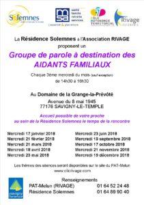 GROUPE DE PAROLE @ Domaine de la Grange la Prévôté | Savigny-le-Temple | Île-de-France | France
